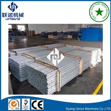 grape stake global market per galvanized steel support