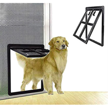 Pet door Locking Safe Flap for Screen Window