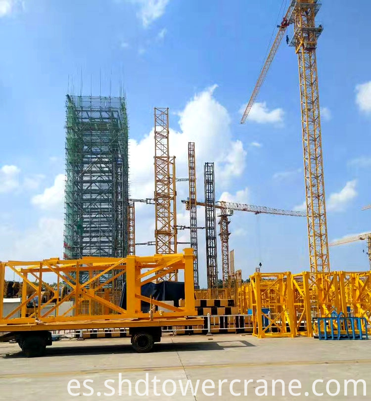 Topless Tower Crane With Max Load