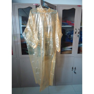 0.02mm Transparent Disposable Rain Suit