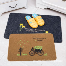 Factory produces high quality embroidery door mats