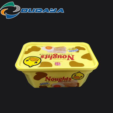500ML IML customized butter containers for margarine