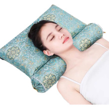 Upgraded Cervical Pillow Inflatable Heated Neck Pillow Cassia Buckwheat Husk Candy Pillow 12 Herbs Hot Compress Cervical Pillow