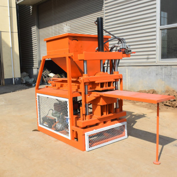 Solid sand small brick concrete slab making machine