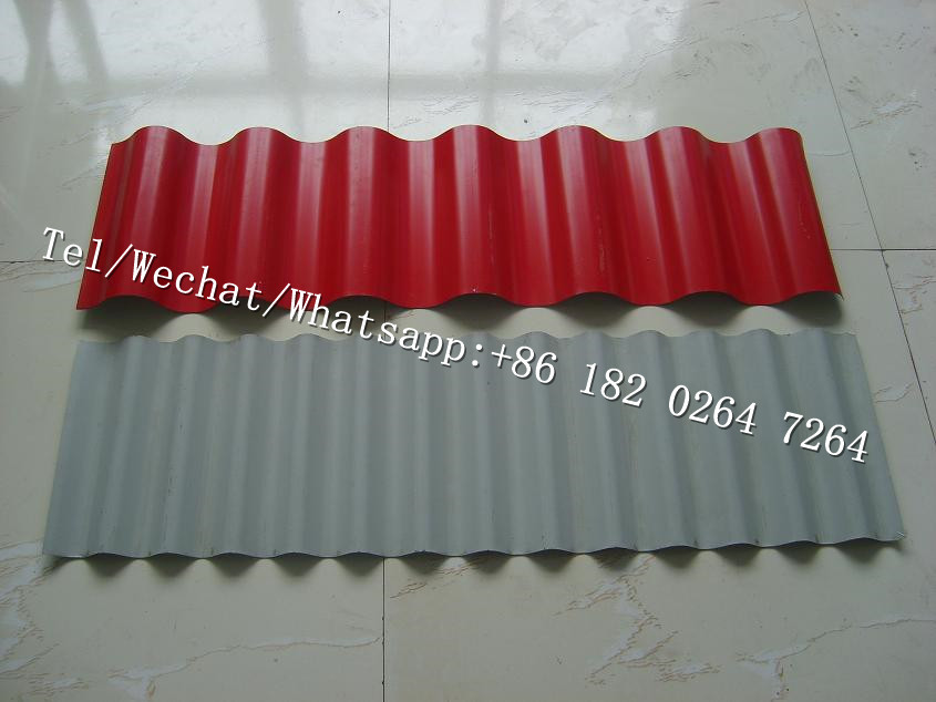 Waterproof Wave Roof Panel Tile Roll Forming Machine