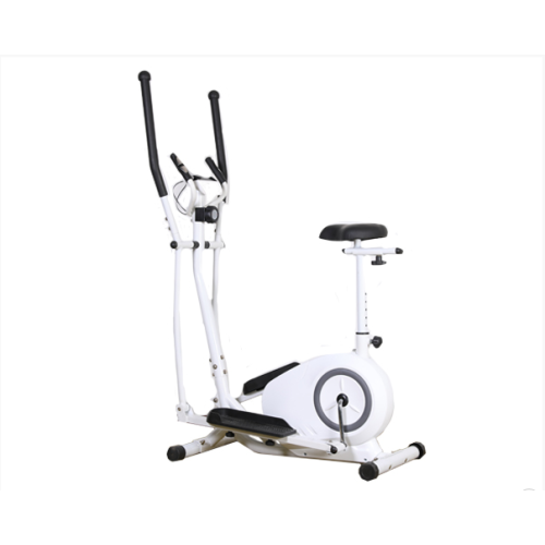 Home gym magnetic control cross trainer elliptical bicycle
