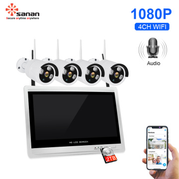 4CH Wireless Security Camera System