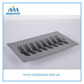 Kitchen Utensil Cutlery Tray Insert for Plate