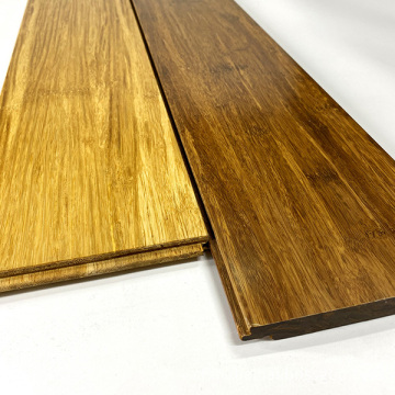 Strand woven bamboo flooring click lock carbonized color