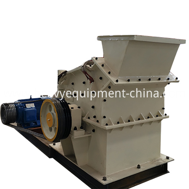 Glass crushing equipment