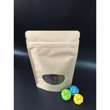 Biodegradable Kraft Paper Recycle Bag with Window