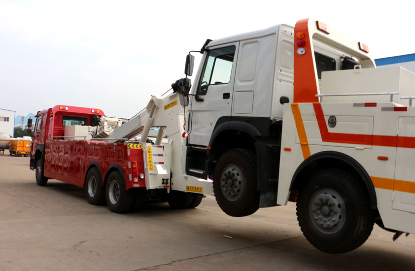 howo heavy duty towing truck 5