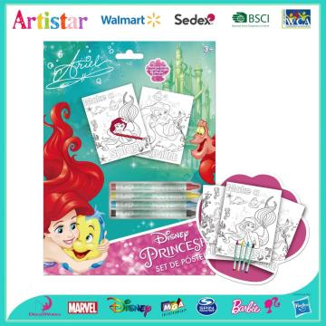 Disney Princess painting poster set