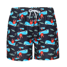 Low Drawstring Sublimation Swim Men Beach Shorts