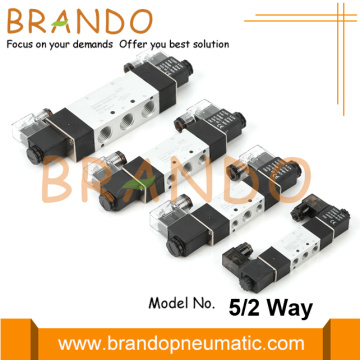 5 Way 2 Position Double Solenoid Valve Pneumatic