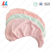 Light color smooth headband hair dry towel