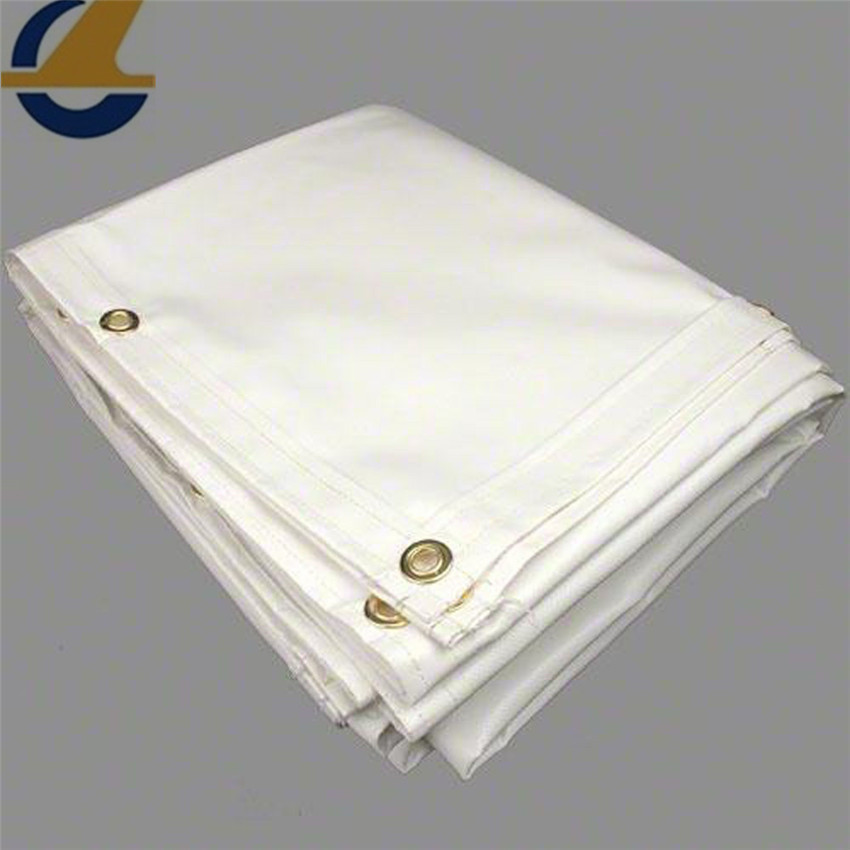 Large tarps of high strength vinyl tarps
