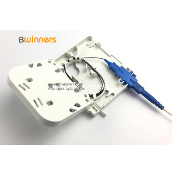 1 Port SC/APC FTTH Fiber Optic Termination Box
