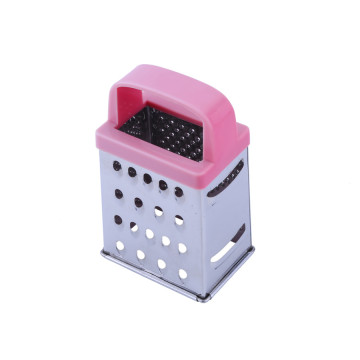 Kitchen Stainless Steel Cheese Grater 4 Sided