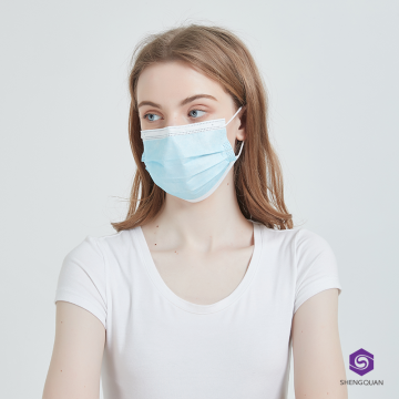 Respirator Face Mask Disposable 3 Ply Mask