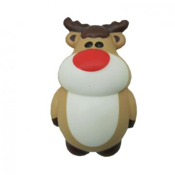 SQUISHY CHRISTMAS ELK TOY-0
