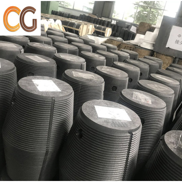 Graphite Electrode with Nipples For Arc Furnace use