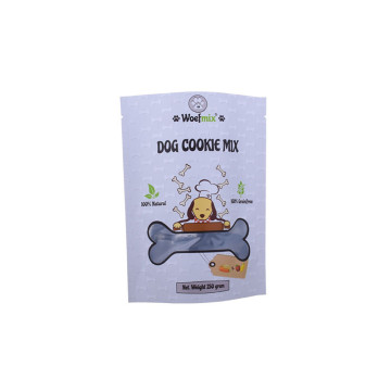 Wholesale stand up dog food pouch zipper bag