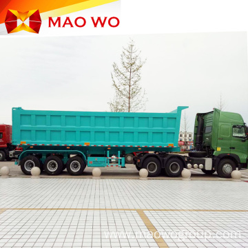 Hot Sale 40-60 Ton Tri-axle Dump Tipper Trailer