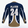 Wholesale Ice Hockey Jersey 100% Polyester Any Logo Custom Reversible Hockey Jersey