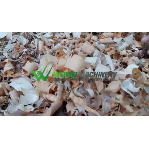WeiWei shaving machine wood shavings press compactor baler