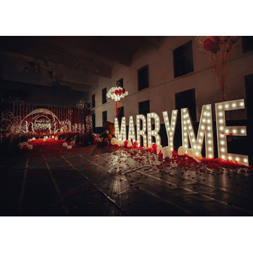 Custom Party Portable Marquee LED Letter  Sign Display