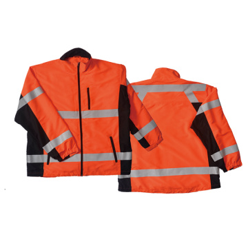 EN471 reflective safety jacket windproof