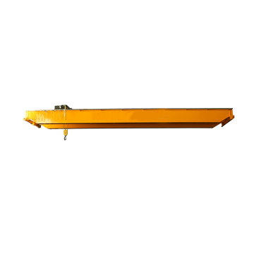 Electric Hoist Double Girder Overhead Crane Drawing