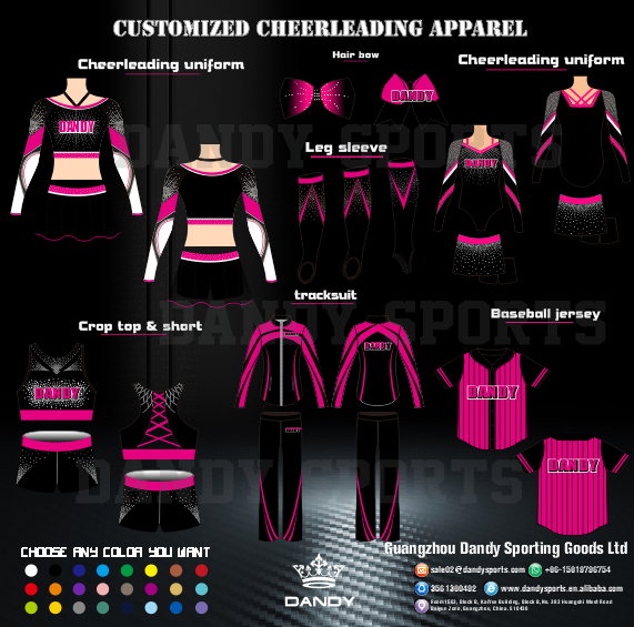 cute cheerleading uniforms