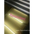 stainless steel decorative sheets 8K GOLD