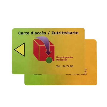 13.56MHZ Printable NFC Pvc Cards Chip Smart Card