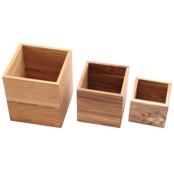 Wooden stand for kitchen utensils