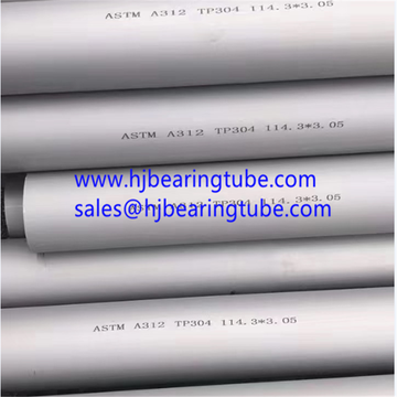 A312 TP304 Thin Wall Stainless Tubing TP304L stainless