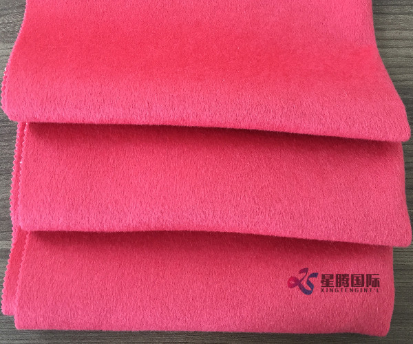 Bright Color Wool Blend Rabbit Hair Fabric