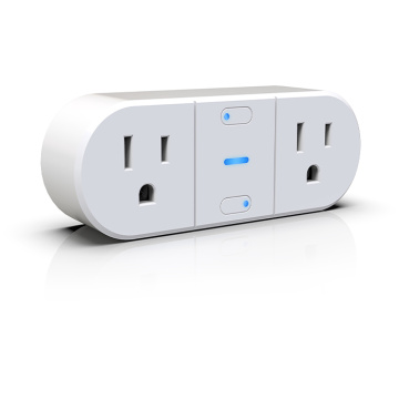2 Plug Dual Output Home Socket