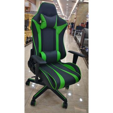 Game Chair Green and Black