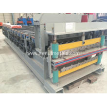 Hydraulic ibr corrugated metal steel tile sheet machine