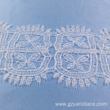 Ivory Guipure Scalloped Lace Trim