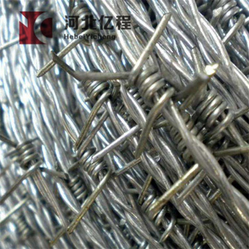 hot dipped galvanized barbed wire military