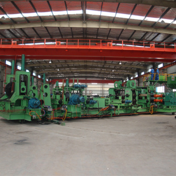 Spiral welded pipe making machine