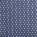 Cotton Printed Poplin With Navy Background