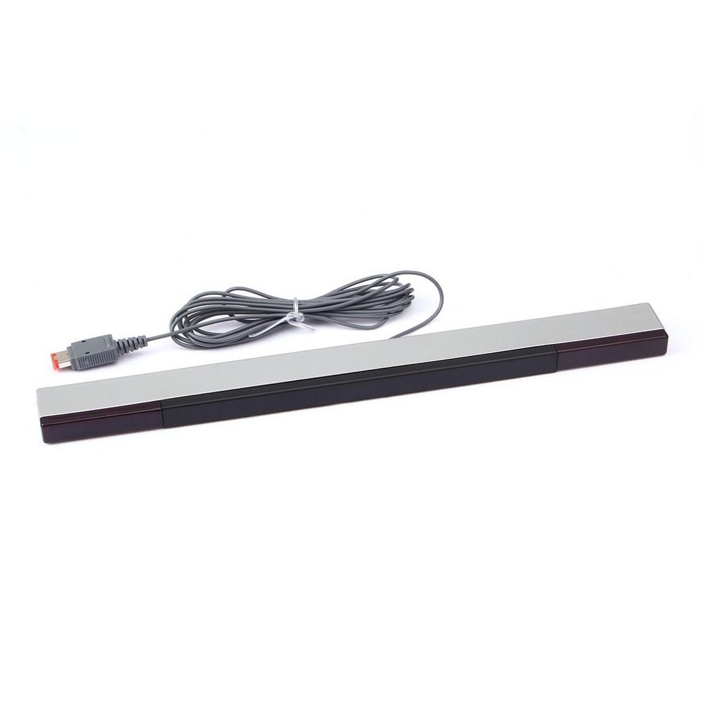 Wired Infrared IR Signal Ray Motion Sensor Bar/Receiver For U Nintend Wii PC Simulator Sensor Move Player