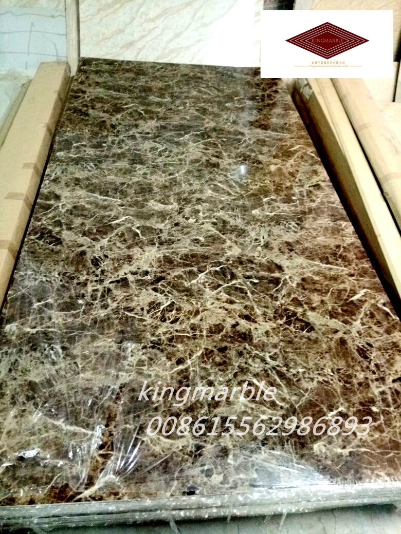 The new decoration decoration pvc marble sheet