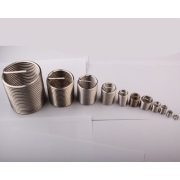 Customized 6x1 screw thread insert for wood