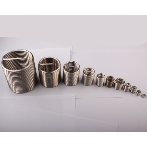 Helical metal screw thread coils/metal inserts